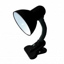 Настольная лампа RIGHT HAUSEN (прищепка) E27 черная